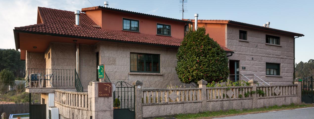 Uno de nuestros alojamientos pertenecientes a O Muiño